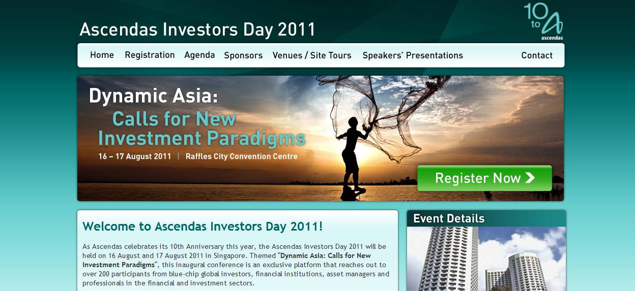 Ascendas Investors Day 2011