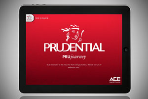 PruJourney – an iPad app for Prudential's financial consultants