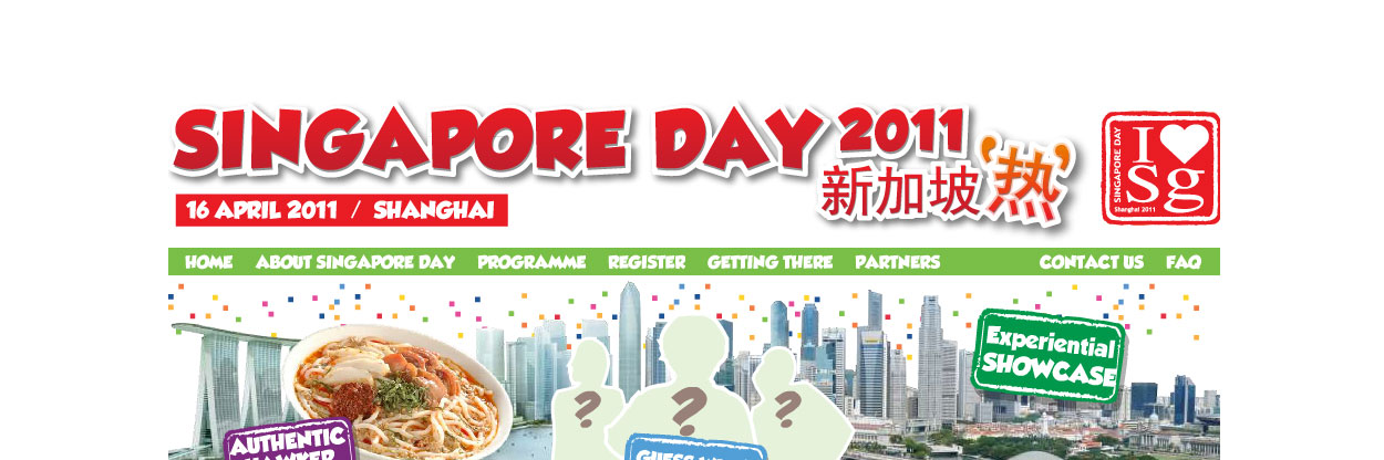 Singapore Day 2011 website is now live