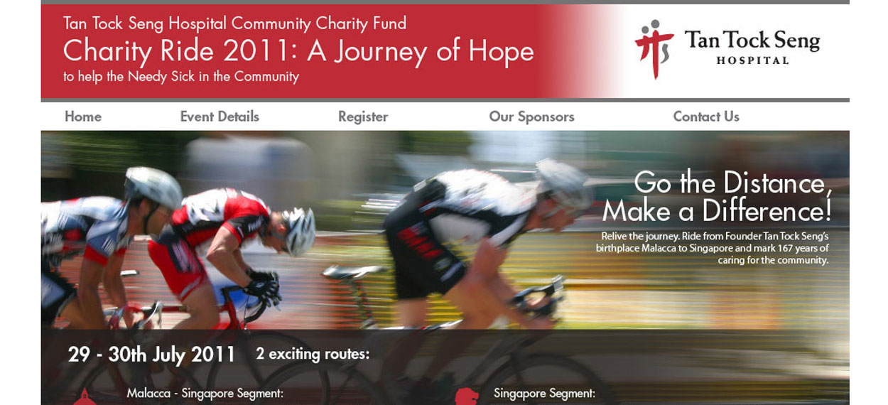 Tan Tock Seng Hospital Charity Ride
