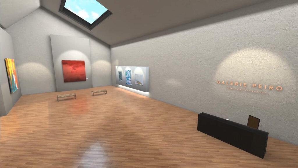3d virtual art gallery singapore